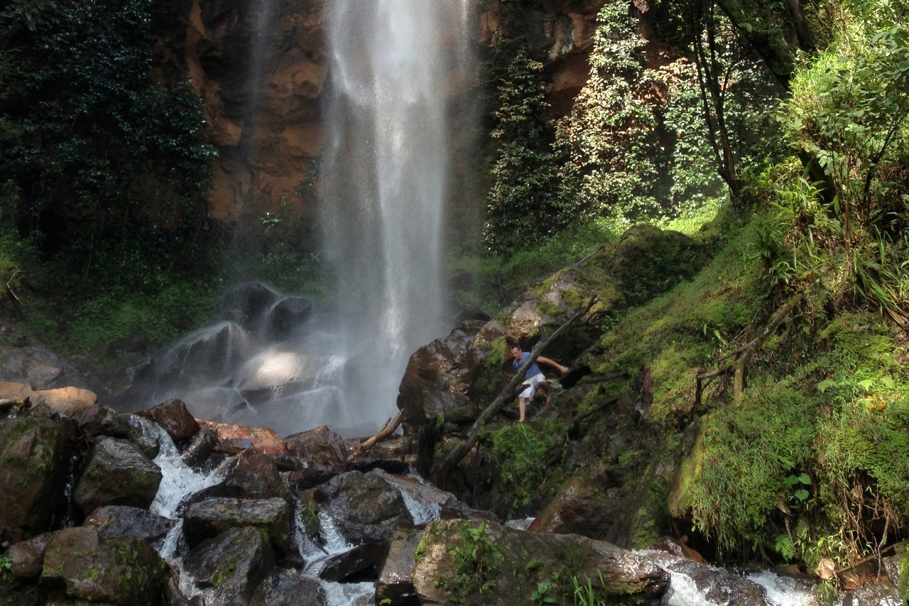 Waterfall near Kumbo